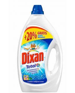 Detergente gel  dixan 40 dosis 3 litros