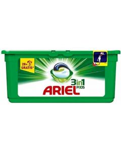 Detergente cápsulas regular ariel 31 dosis