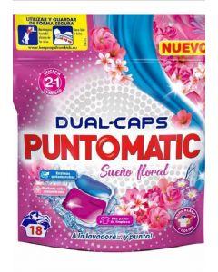 Detergente cápsulas sueño floral puntomatic 18 dosis