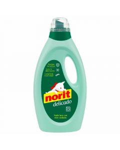 detergente líquido para lavado a máquina delicado verde norit 37 dosis 1,125l