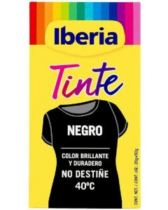 Tinte textil especial negro iberia
