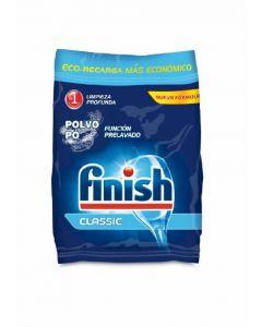 Lavavajillas máquina polvo eco-recarga finish 2 kilos