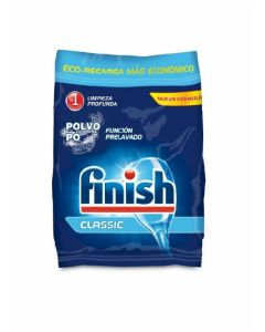 Lavavajillas a máquina polvo eco-recarga finish 2kg