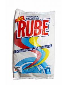 Detergente en polvo para lavado a mano rube 8 dosis 1kg