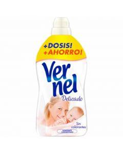 Suavizante concentrado aroma delicado vernel 54 dosis 1,25l