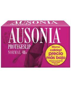 Protegeslip normal ausonia pack de 40 unidades