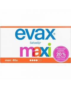 Protegeslip maxi evax pack de 40 unidades