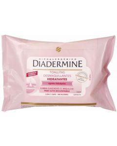 Diadermine toallitas desmaquillantes 20ud