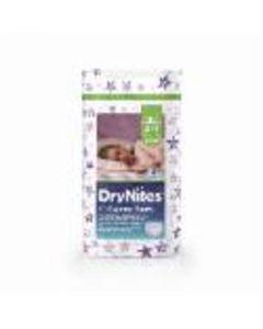 Pañal braga para niña 4-7años dry nites huggies convenience pack de 10 unidades