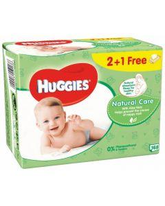 Huggies toallitas natural care 168ud