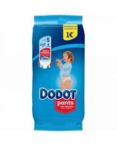 Pañal t5 dodot pants 4 ud