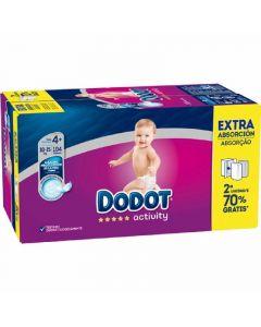 Pañal activity extra dodot box t4 104ud