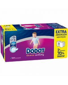 Pañal activity extra dodot box t5 96ud