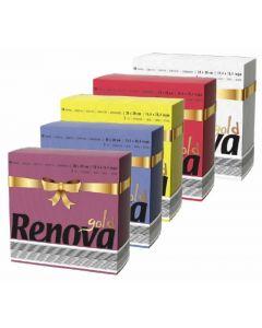 Servilleta color renova 40x40 40 unds