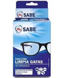 Toallitas húmedas limpiagafas ifa unnia 30 unidades