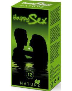 Preservativo sex nature happy sex 12ud
