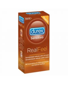 Preservativo real feel durex 12ud