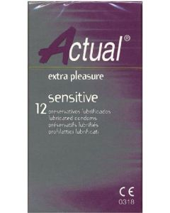Preservativo sensitive actual 12ud