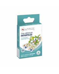 Tiritas infantiles ifa unnia pack de 20 unidades