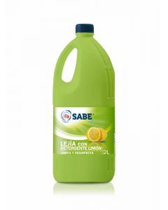 Lejía con detergente aroma limón ifa sabe 2l