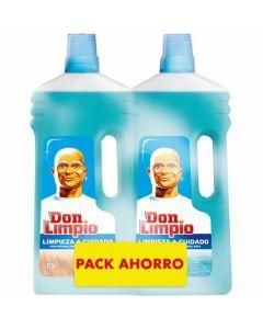 Limpiador neutro don limpio pack de 2 unidades de 1,5l