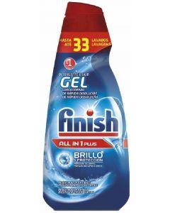 Lavavajillas a máquina en gel finish regular 660ml