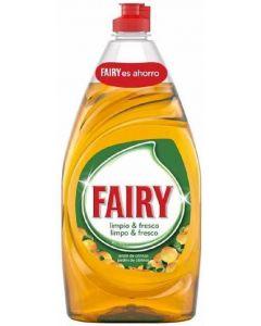 Lavavajillas a mano aroma naranja fairy 820ml