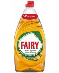 Lavavajillas manofrescor naranja fairy 820 ml