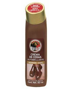 Limpiazapatos marron bufalo liquido 50ml