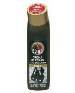 Limpiazapatos negro bufalo liquido 50ml