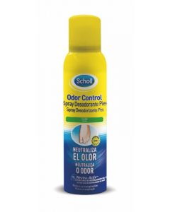 Desodorante spray para calzado scholl 150 ml