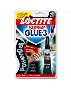 Pegamento power gel  super glue 3