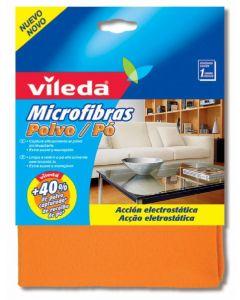 Bayeta microfibra atrapa polvo vileda 1 ud