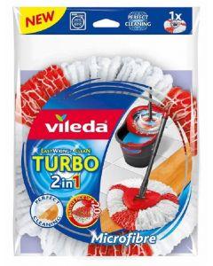 Recambio set turbo fregona cordones microfibras y poliamida vileda 1 ud