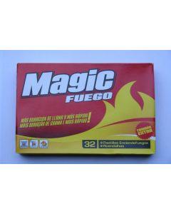 Pastillas enciende fuego magic