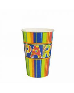 Vaso carton party papstar 10ud