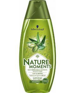 Champú con aceite de oliva y aloe vera nature moments 400ml