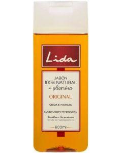 Jabon liquido glicerina 100% natural lida 600 ml