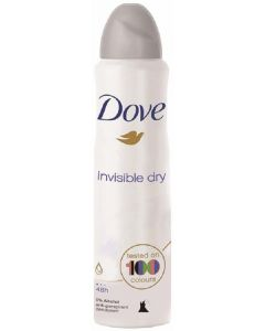 Desodorante anti-transpirante invisible dry dove 200 ml