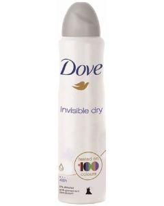 Desodorante anti-transpirante invisible dry dove 200 ml
