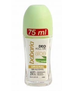 Desodorante roll-on aole vera babaria 75 ml
