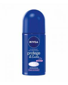 Desodorante roll-on protege y cuida nivea 50 ml
