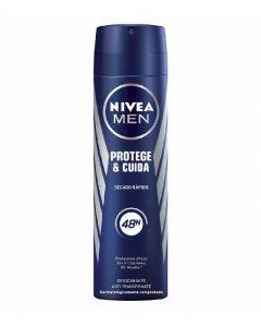 Desodorante spray para hombre protege y cuida nivea 200 ml