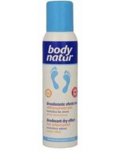 Desodorante spray efectecto seco body natur 150 ml
