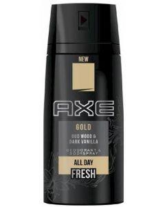 Bodyspray para hombre gold axe 150 ml