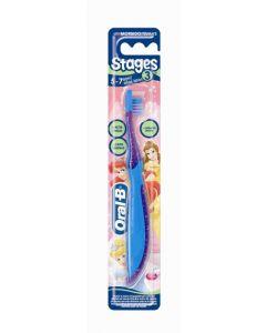 Cepillo de dientes manual con princesas o personajes de cars oral-b kids
