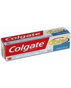 Pasta de dientes total original colgate 75ml