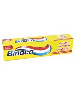 Pasta dentífrica tubo amarillo binaca 75ml