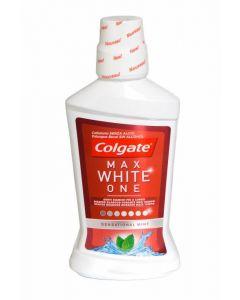Enjuague bucal max white expert colgate 500ml