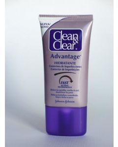 Loción hidratante clean y clear advantage johnson y johnson 40 ml